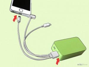 como cargar el movil usando power bank