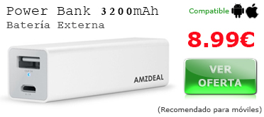 Power Bank 3200